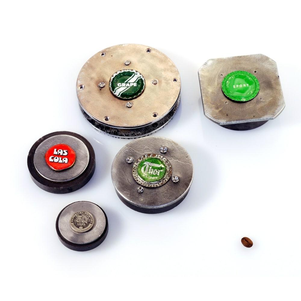 nøglehænger-genbrug-højtalermagnet